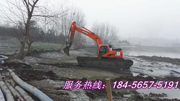 安康湿地挖掘机出租租赁