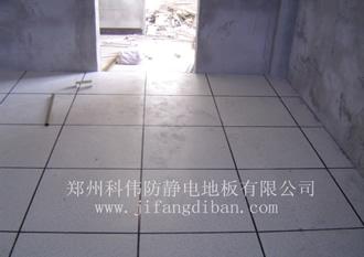 务永久性PVC防静电地板