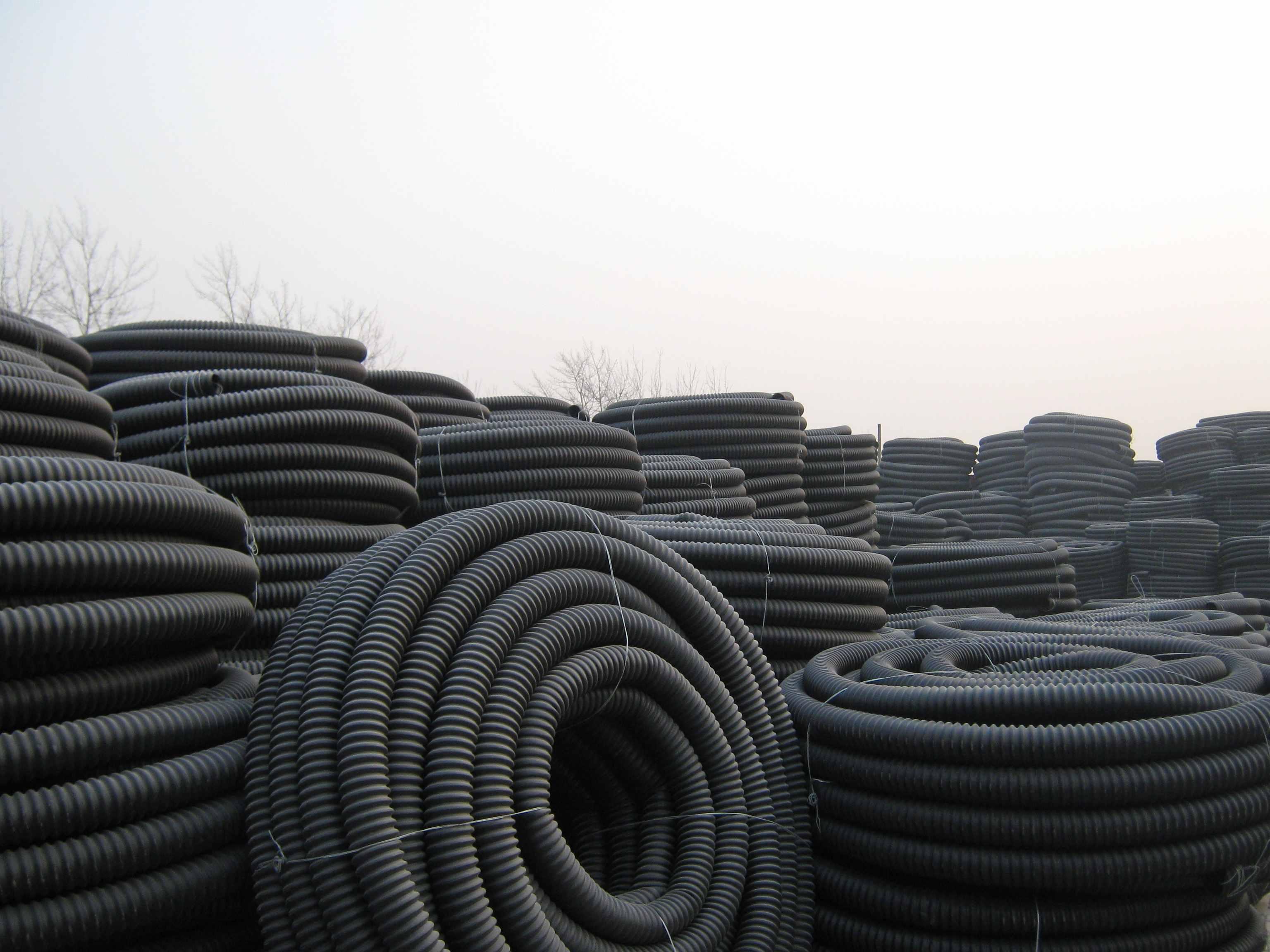 庆云市政电力工程碳素波纹管相关知识解析厂家直销