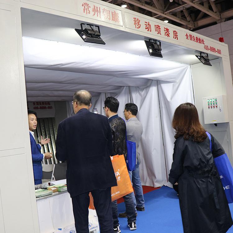 青海本地环保设备移动式喷漆房厂家直销