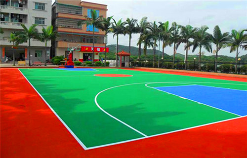 晋中市硅PU篮球场厂家直销材料