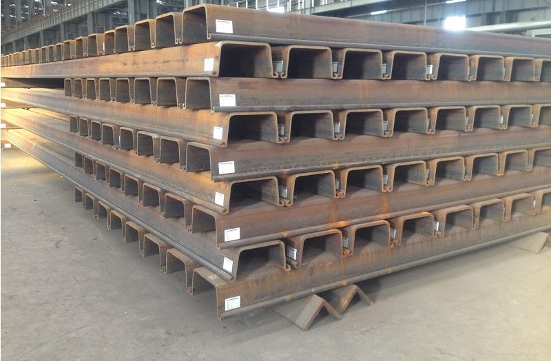 绥化冷弯钢板桩//生产销售