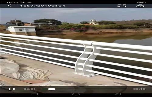 日喀则桥梁镀锌护栏静电喷塑诚信厂家定做