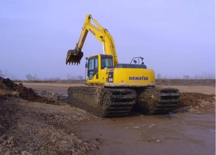 台州石嘴山湿地沼泽地挖掘机租赁价格销售厂家