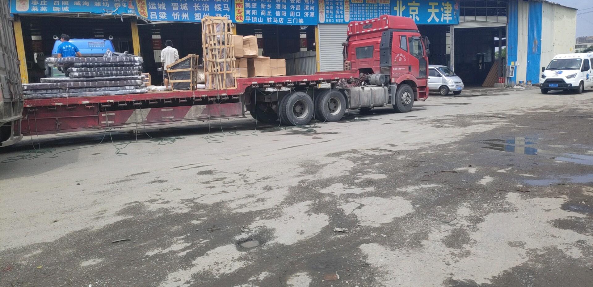 东莞发到广西省贵港平南物流托运值得托付