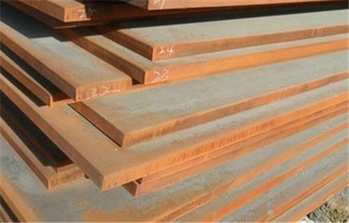 中山宝钢Q345nh耐候钢板(代理商)切割