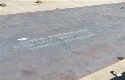 钦州鞍钢q345耐候钢板数控切割