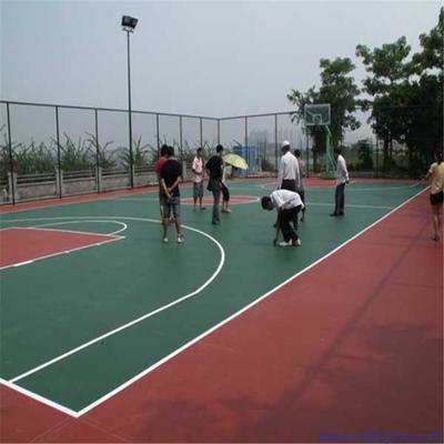信阳硅pu篮球场施工厂家