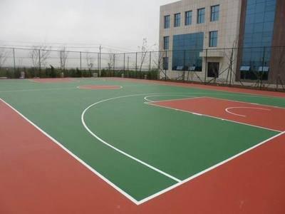 南京球场弹性地面施工工艺材料