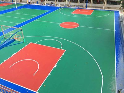 扬州球场地面翻新安装