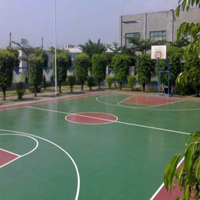 黄石硅pu网球场施工地坪