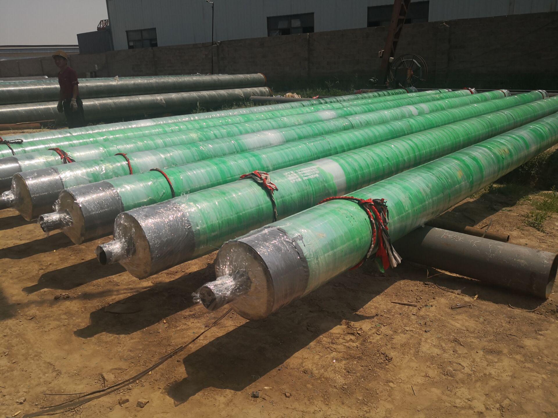 海口国标钢套钢保温管成功案例
