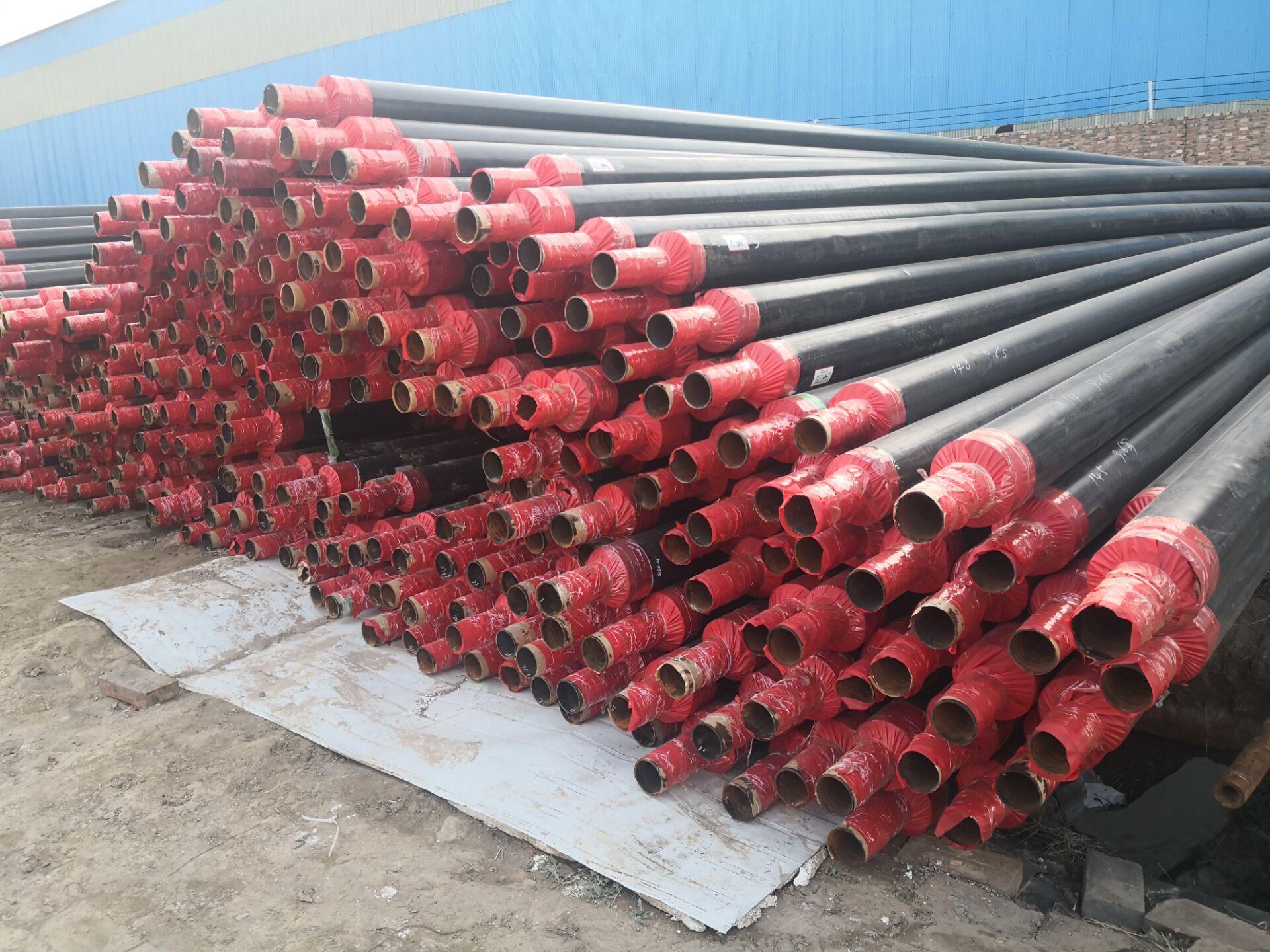 昌都直埋蒸汽管现场施工安装教程