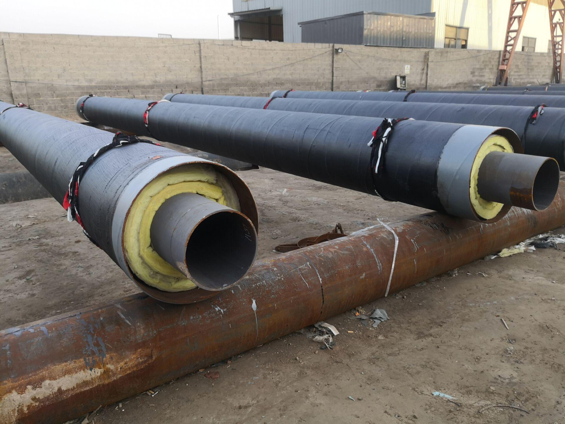 乌兰察布蒸汽直埋输送钢管新标准