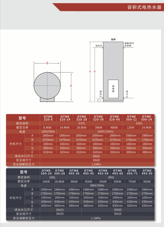 日喀则商用电热水器现货库存