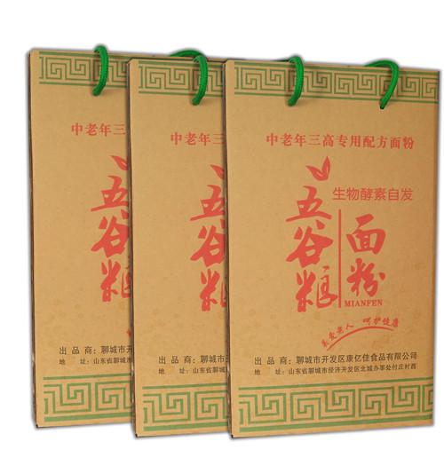 哈尔滨富硒黑小麦水饺面粉代理加盟
