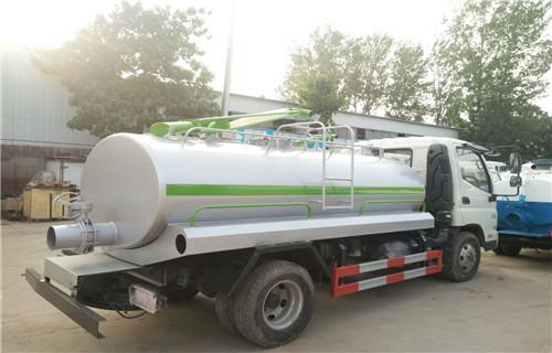 西藏拉萨市东风大型8立方吸粪车罐体价格