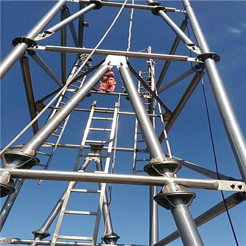 南平烟囱旋转梯安装 尺寸规格表