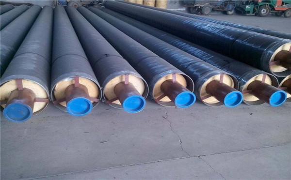 河南钢套钢蒸汽式保温管