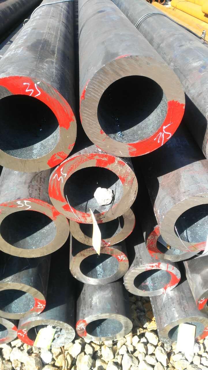 河南45#厚壁鋼管325X65價格多少