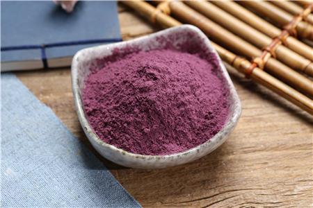 日照紫紅薯粉代加工