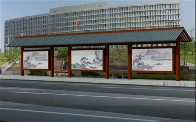 北京不�P�仿古公交站�_供�商