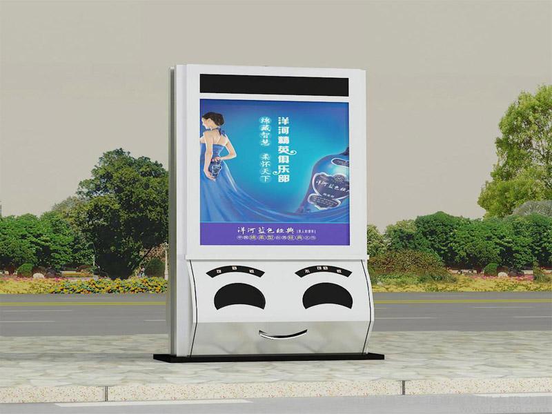 张家口广告垃圾箱垃圾箱灯箱加工
