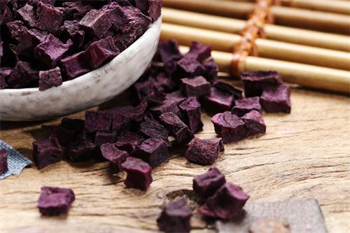山东紫薯熟丁产地货源
