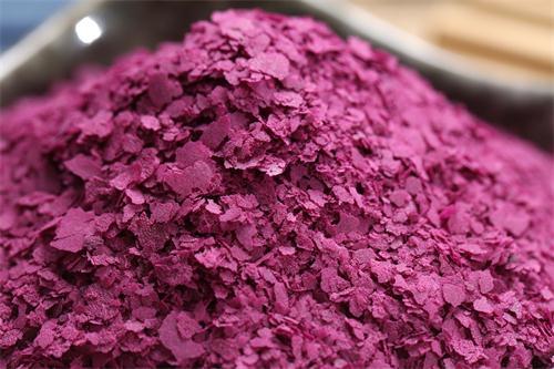 商洛紫薯雪花粉做法大全