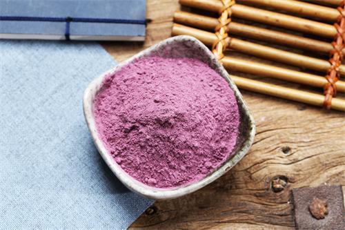 烟台紫薯雪花粉加工过程