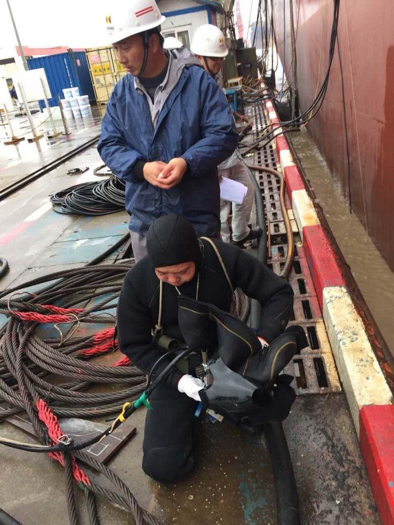 东莞水下施工公司电话验收规范
