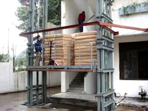 绵阳厂家定制室外载货货梯