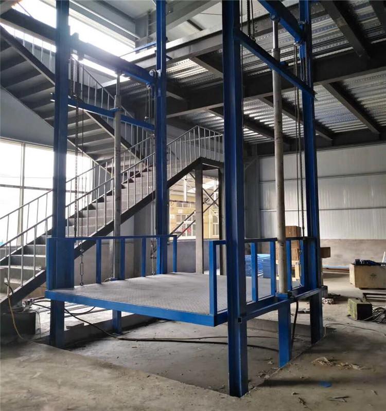 二层货梯220伏电路图