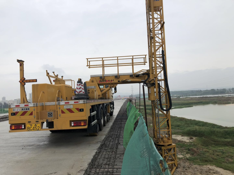 来宾市忻城桁架式桥梁检测车租赁安全为主