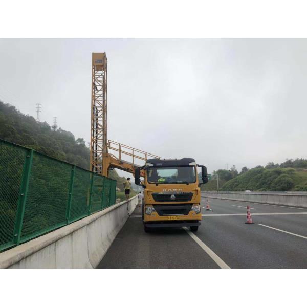 贛州市贛縣桁架式橋梁檢測車租賃多好的橋檢車