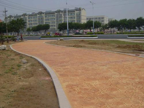 山东淄博压膜混凝土费用工程案例图片