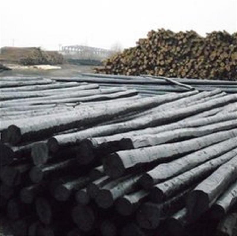 电力通讯油木杆油炸木杆防腐木杆