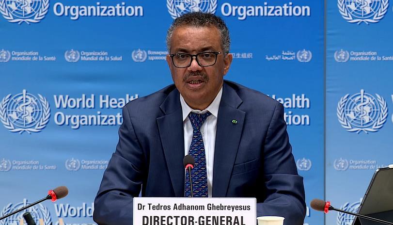 世衛組織召開新冠肺炎例行發布會稱中國等國已控制住大規模疫情