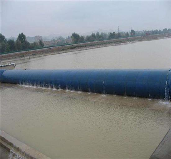 橡胶坝坝袋安装施工及质量控制严把质量关