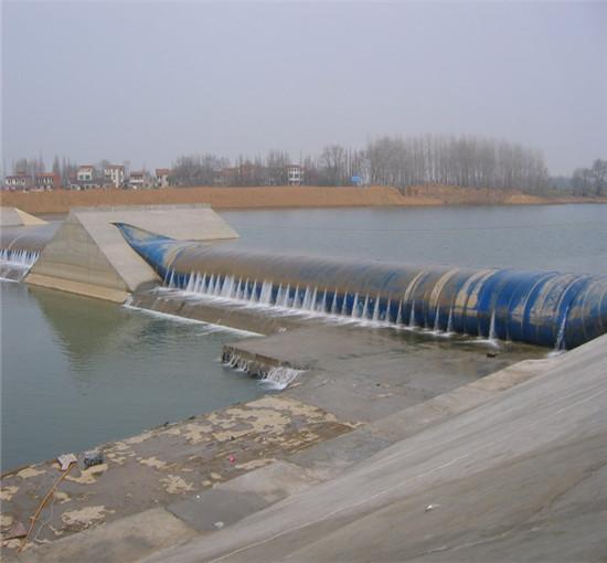 河道橡胶坝维修施工的几点经验总结
