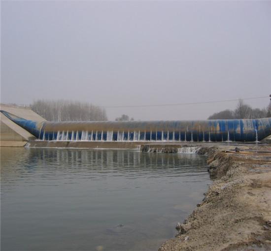 橡胶坝漏洞修补施工技术问题研究