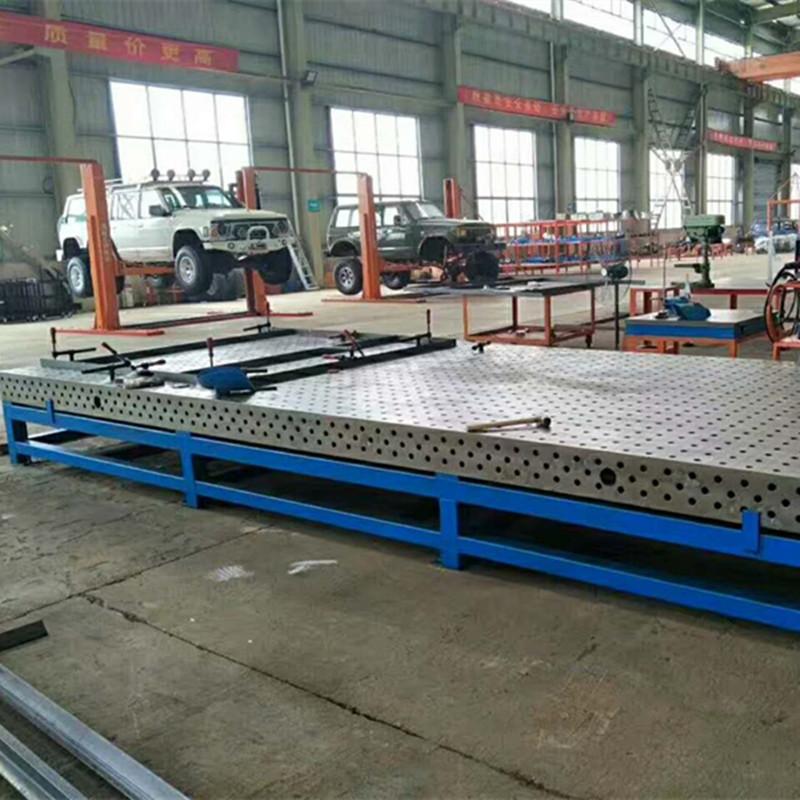 铸铁检验平台 T型槽平板 划线平台  钳工工作台
