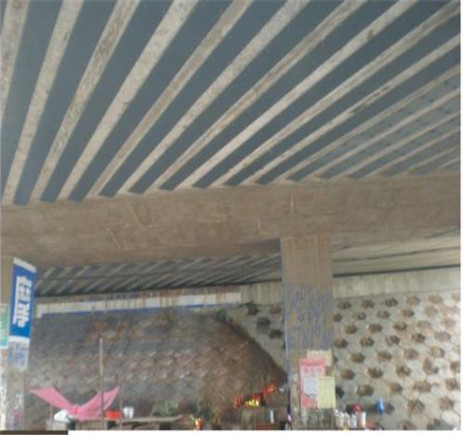 桥梁加固维修-粘贴碳纤维加固