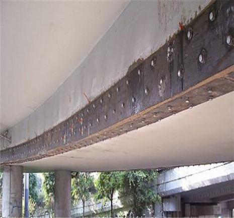 桥梁加固维修-粘贴钢板加固