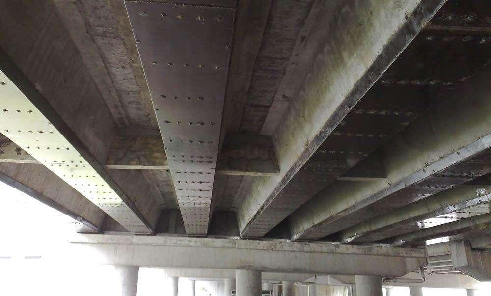 桥梁钢板加固-重庆钢板加固
