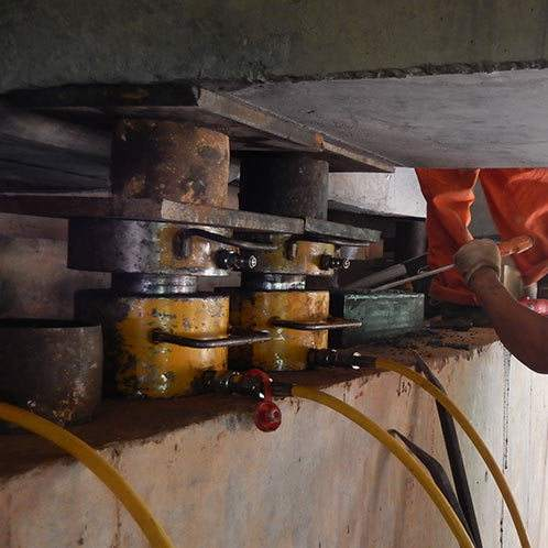 桥梁支座更换维修在桥梁养护中的施工工艺