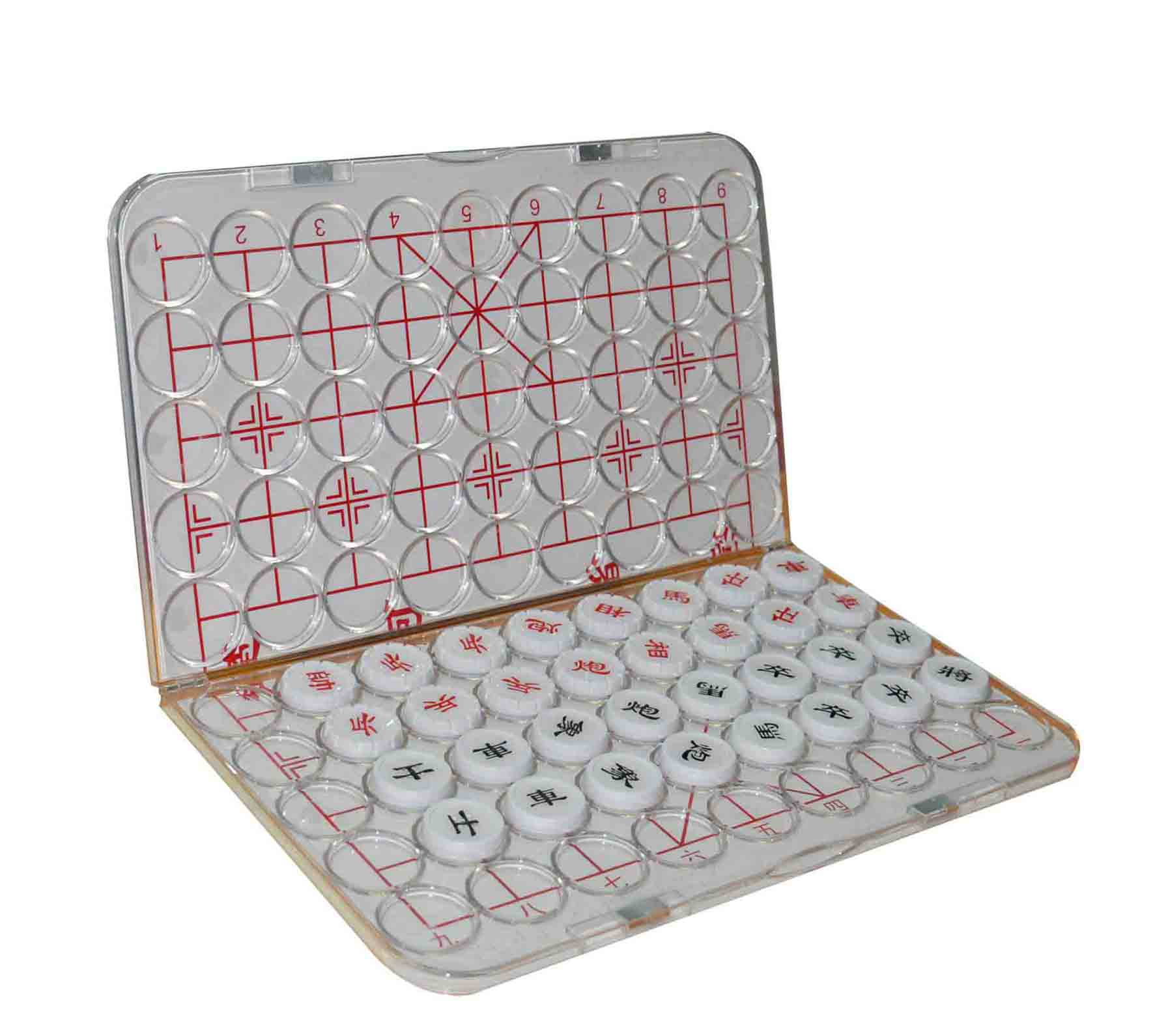 便携折叠式盲人中国象棋