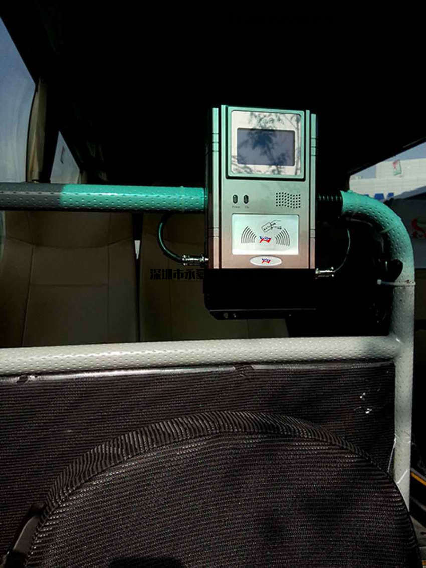企业班车乘车码,企业班车扫码机,企业巴士二维码扫码识别机