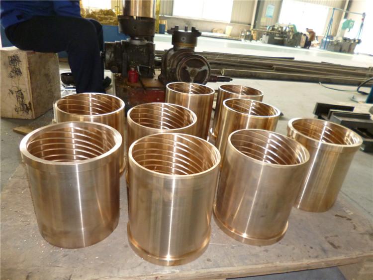 供应钢厂冶金设备配件铝青铜铜套