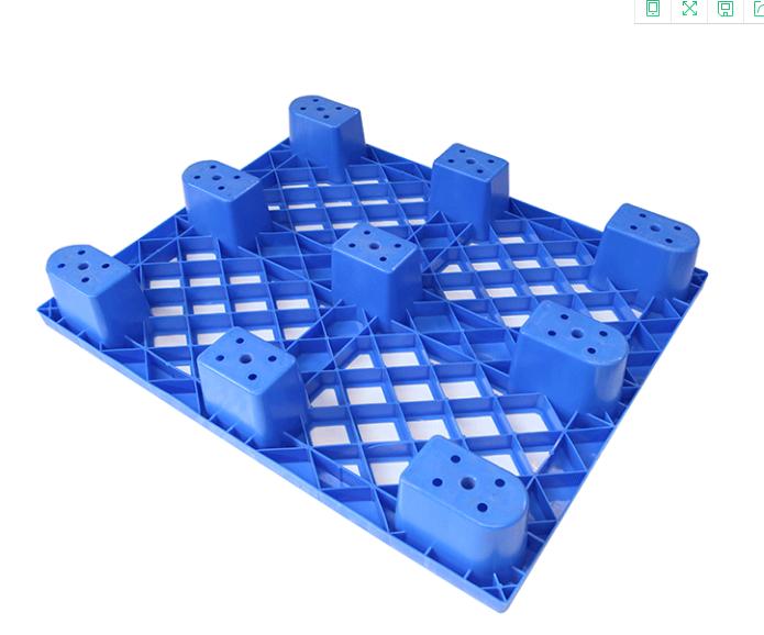 广东省塑胶厂供应九脚塑料卡板 叉车塑料卡板  运输塑料卡板  网格塑料托盘  印刷托盘等